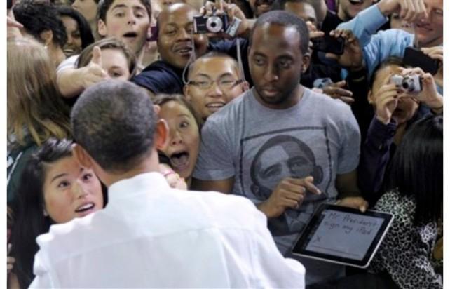 """Guy Asks Obama """"Mr"""