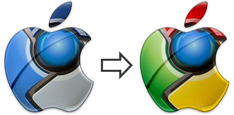 Apple-Google-Chrome