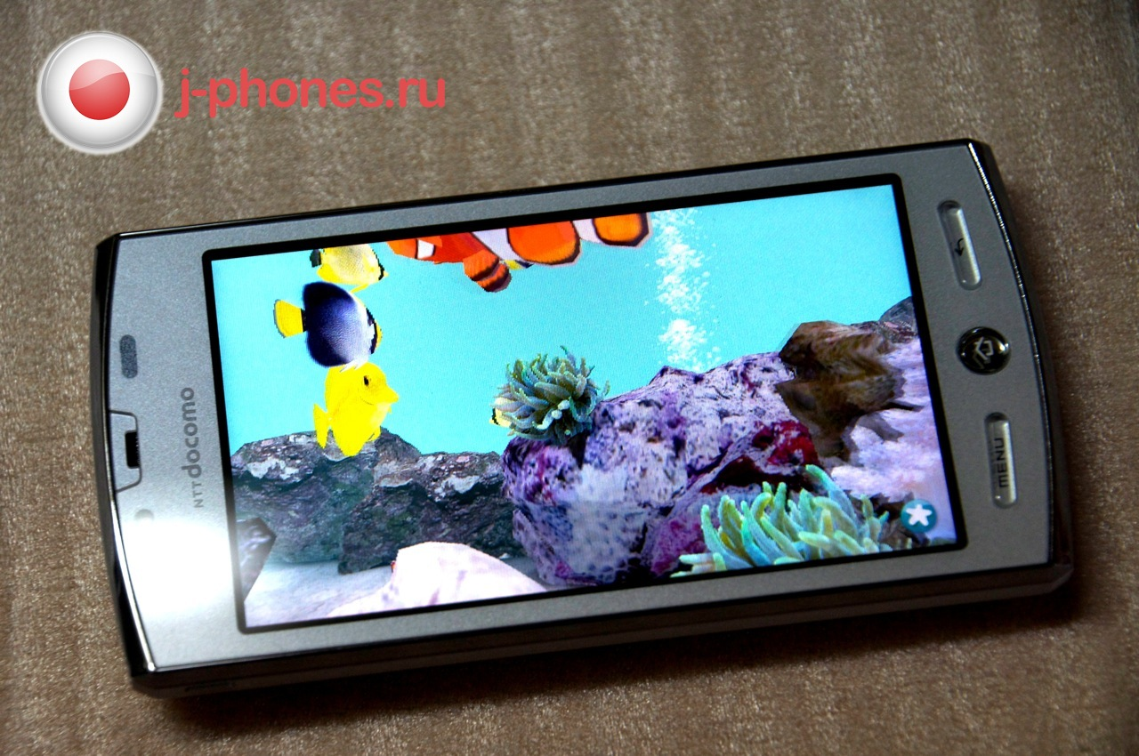 The sharp aquos 3d (sh-12c) handsets, which run on an android 23 operating system will