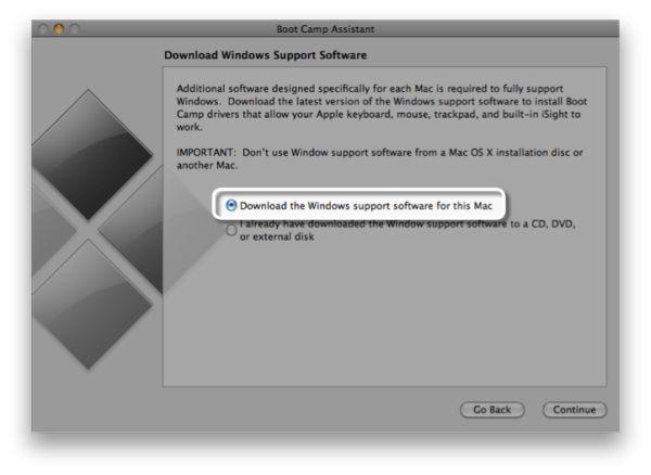 Драйвера Bootcamp для Windows 7
