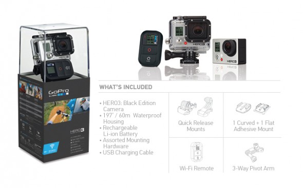 GoPro HERO3 BlackEdition купить