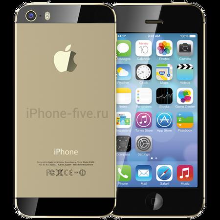 iphone-5S-champagne-black