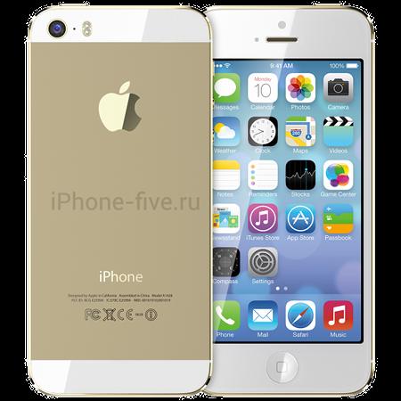 iPhone 5s Gold и пластиковый iPhone 5c на видео