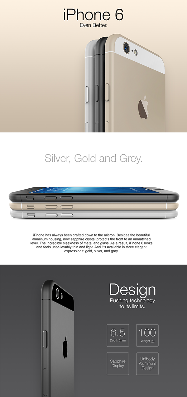 iPhone-6-gray-silver-gold